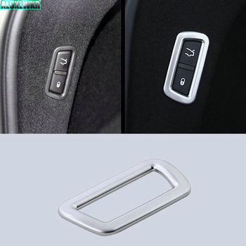 ABS Car Rear Door Electric Switch Decorative Cover Trim Car-styling Accessory Fit for Maserati LEVANTE 2016 2017 Car Accessories image