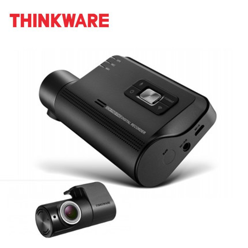 Thinkware Dash Cam F800 PRO 2 Canali Blackbox Auto Della Macchina Fotografica Full HD 1920x1080 Auto DVR Micro SD Card hardwiring Kit con Cam Posteriore