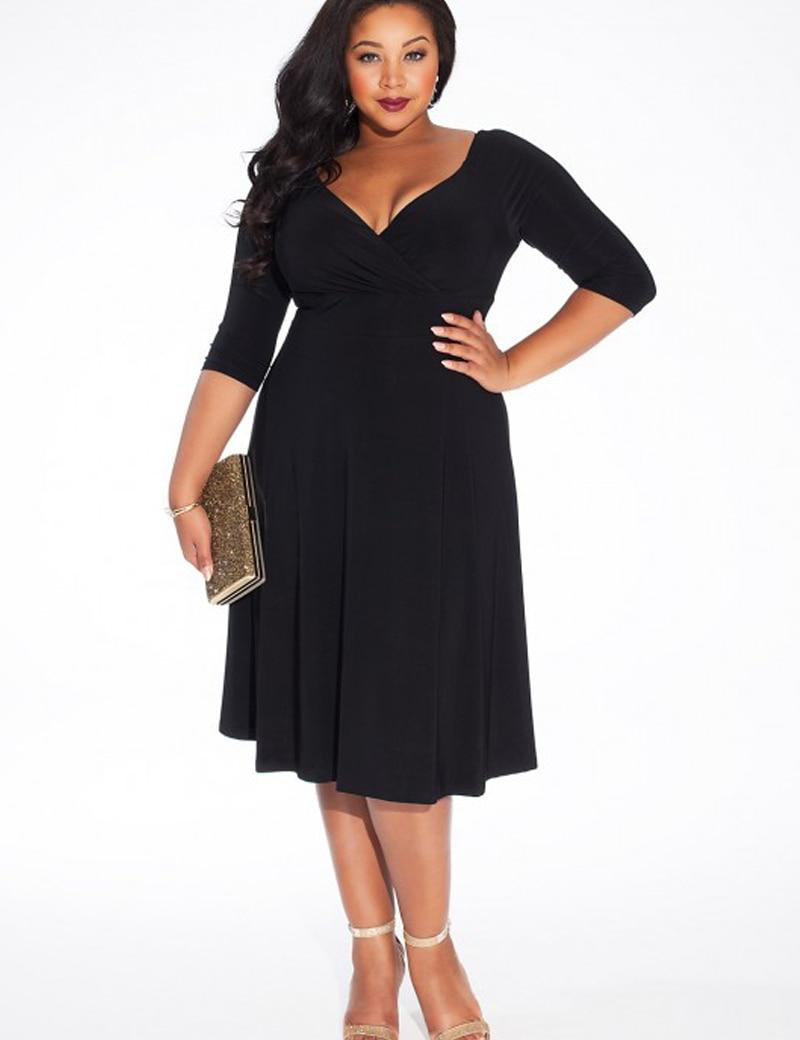 Aliexpress.com : Buy autumn winter dress plus size women clothing ...