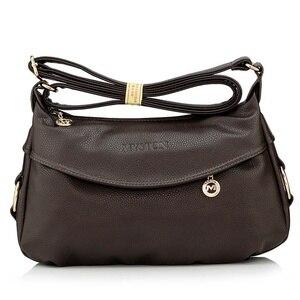 Image 2 - Fashion Ladies Leather Handbags Tote Shoulder Bags For Women Messenger Bags, women bag Shoulder Crossbody Bags free shipping