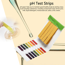 Nice 80 Strips PH Test Strip Aquarium Pond Water Testing PH Litmus Paper Full Range Alkaline Acid 1-14 Test Paper Litmus Test