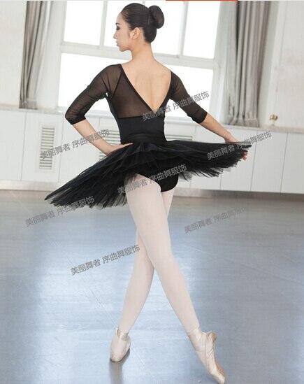bfcb0e12e Black fahsion M XXL Sexy Dancewear Ballet Leotard Exercise girl ...