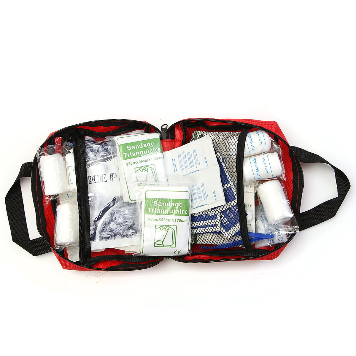 NEW Safurance 230 Pieces First Aid kit Emergency Set Kit Outdoor Wilderness Survival Medical Treatment Pack Set new gbj free shipping home aluminum medical cabinet multi layer medical treatment first aid kit medicine storage portable
