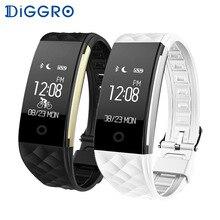 Умный Браслет Diggro S2 с Bluetooth, монитор сердечного ритма, IP67, спортивный фитнес-трекер, браслет для телефона на базе Android IOS