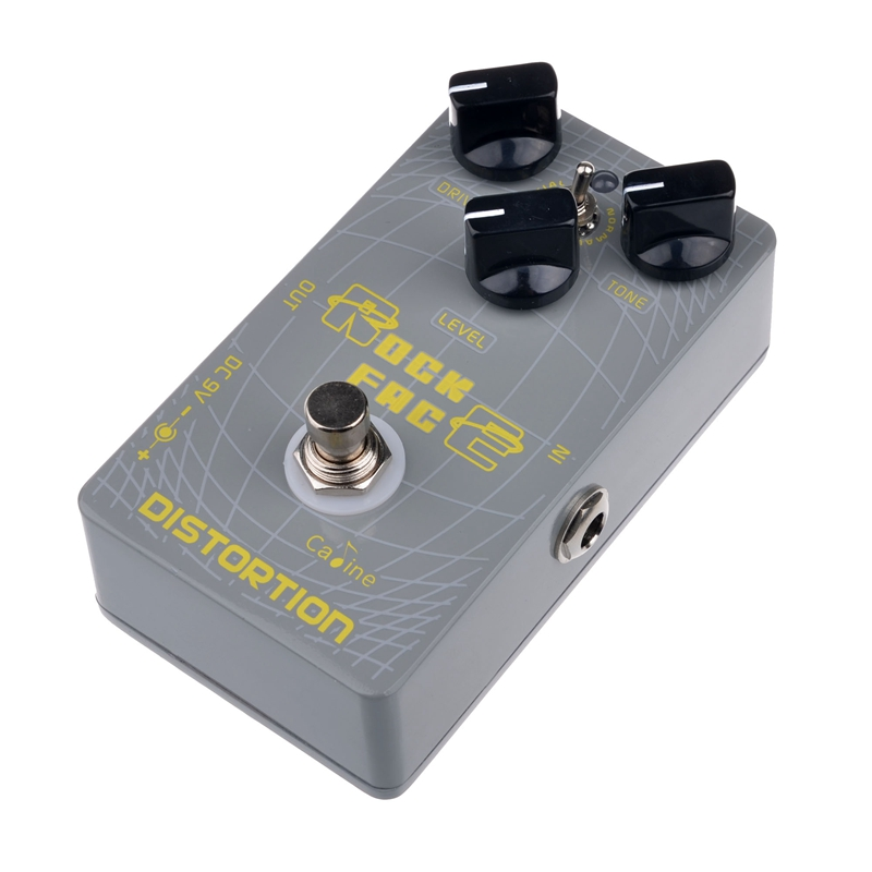Caline CP-21 Rock Face Distortion Guitar Effect Pedals Caline Digital Delay Effect Pedal True Bypass Design Guitar Effect proco sound you dirty rat distortion guitar effect pedals