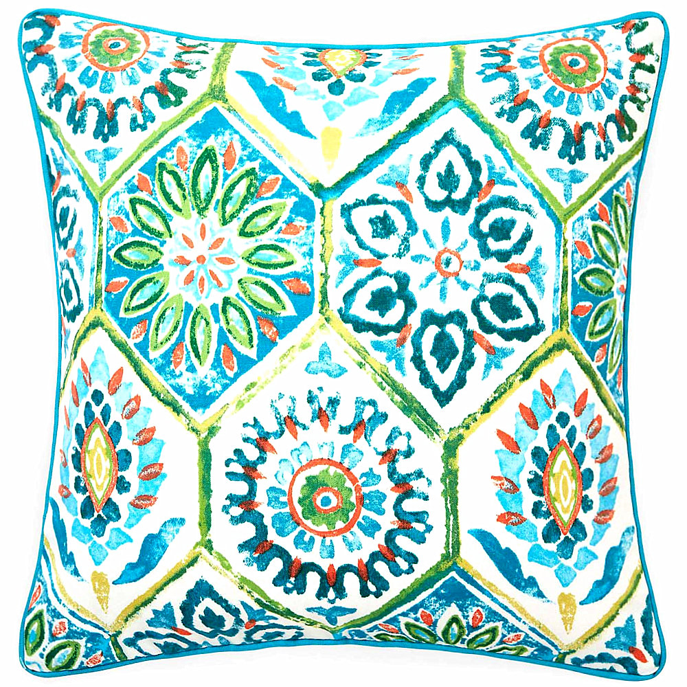 Geometric Watercolor Pillowcase Case Home Decorative Pillow Thick Linen Pillowcase Sofa Cushion