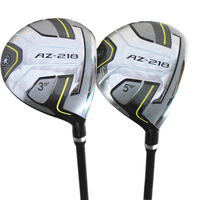 Cooyute New mens Golf clubs AZ 218 Golf fairway wood 3/15 5/19 wood clubs with Graphite Golf shaft free shipping