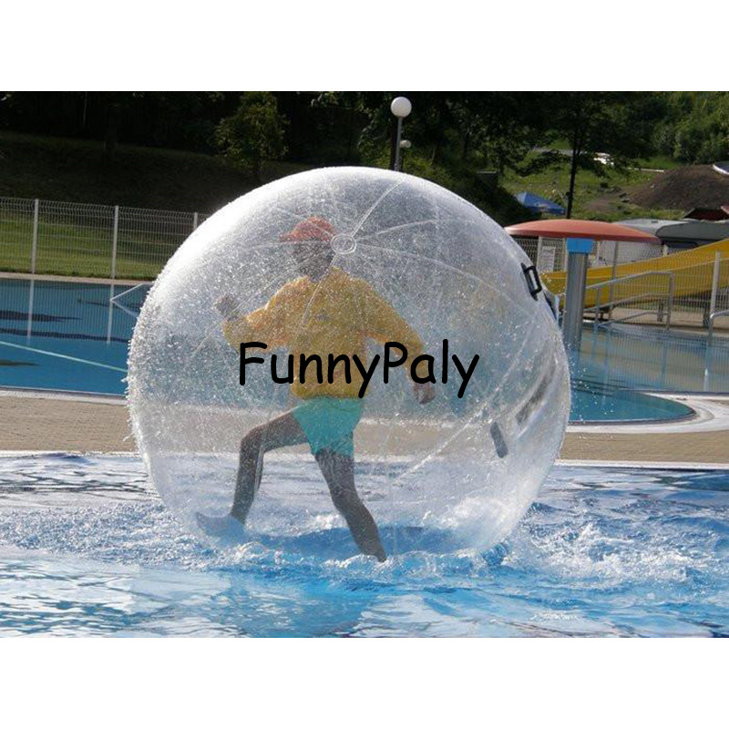 Sports & Entertainment Free Shipping 1.8m Pvc Floating Inflatable Water Walking Ball Inflatable Human Balloon Ball Water Rolling Zorb Ball Clear And Distinctive Entertainment