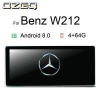 OZGQ 10,25 дюймов Android автомобильный мультимедийный gps Авторадио Навигация для 2009 2014 Mercedes benz E260 W212 с Bluetooth WI FI карта