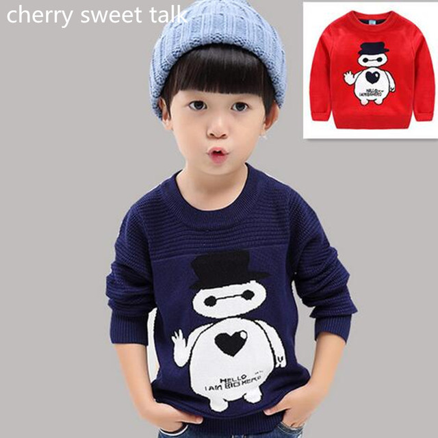 Mejor-venta de productos de alta calidad blanco suéter de los niños chicos y chicas suéter de punto suéteres de los niños