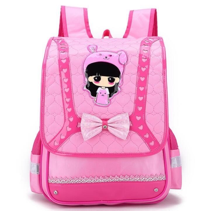Детские школьные сумки девушки дети ортопедический рюкзак школьный Водонепроницаемый рюкзак начальная школа Bookbag дети портфель sac enfant