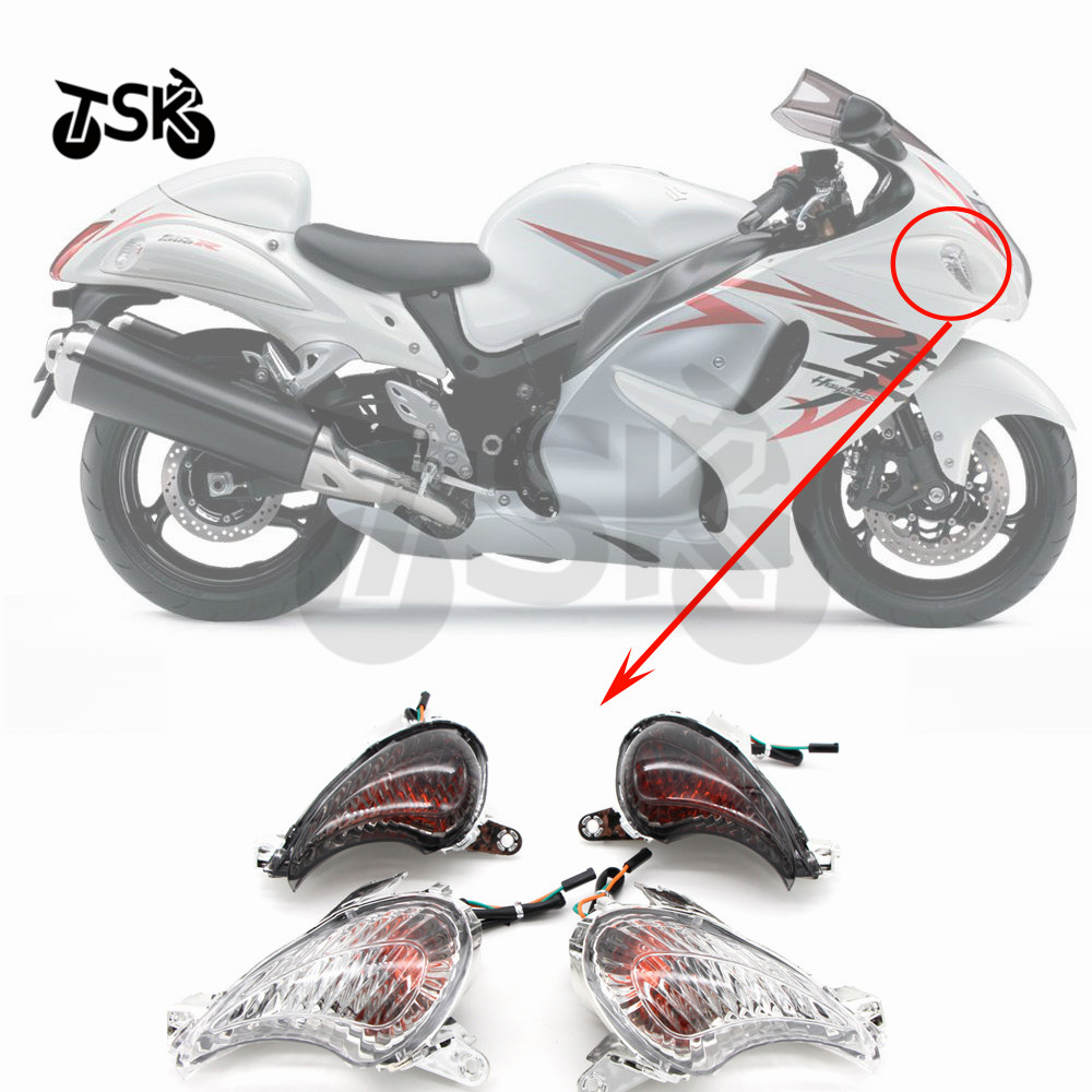 For SUZUKI Hayabusa GSXR1300 Front Turn Signals Indicator Lamp Lamp Motorcycle High Quality 2008-2017