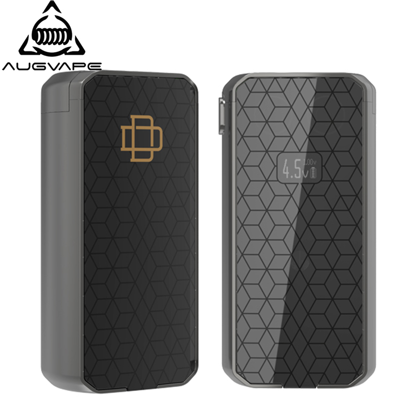 Augvape Druga Foxy Box Mod brevet à dégagement rapide 150 w double batterie 18650 VV Mod OLED affichage résistance Cigarette électronique Mod
