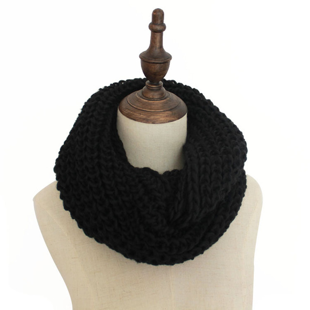 13 Colors Warm Winter Scarf Scarves Knitted Women Neck Wool Cashmere Scarves Pashmina Scarf