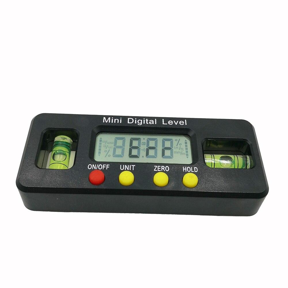 100 мм 360 градусов Мини цифровой угломер Инклинометр электронный уровень с магнитной нижней угол измерительный инструмент