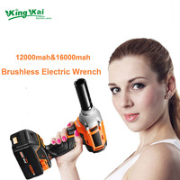 320N M Brushless 9000mAh Electric Wrench Multifunctional Cordless Rechargeable Lithium Battery Electric Wrench