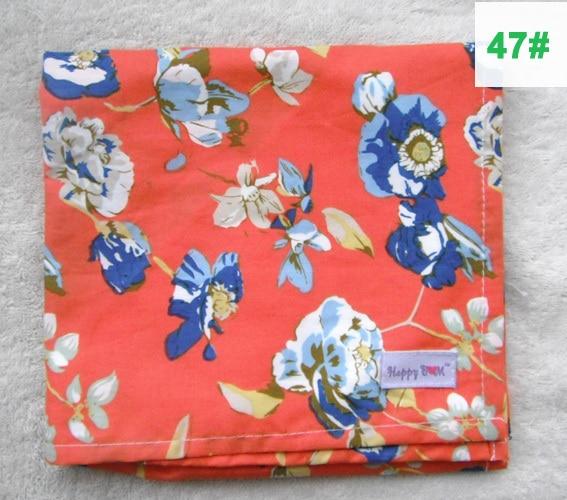 Крышка для грудного вскармливания, дышащая хлопковая муслиновая ткань для кормления, крышка для кормления - Цвет: 47