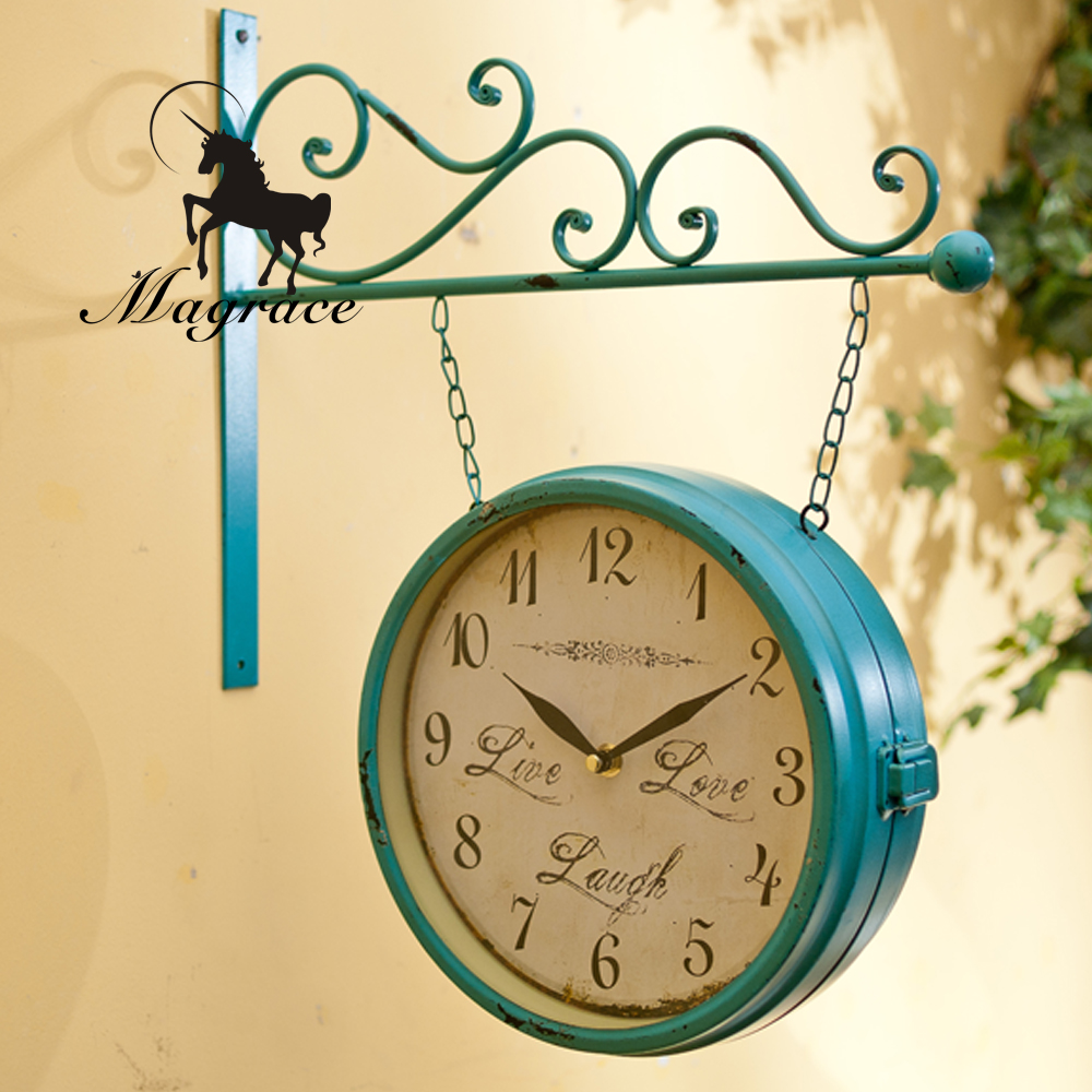 Compare Prices on Hanging Clocks Double Sided Online ShoppingBuy