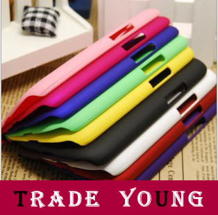 1pcs Frosted Soft Clear Back TPU Cover Case for Samsung Galaxy S4 S IV 4 i9500