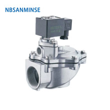 цена на G1-1/2 G2 G2-1/2 Alloy Series Electromagnetic Pneumatic Pulse Air Valve ASCO Similar Type Pulse Valve High Quality Sanmin