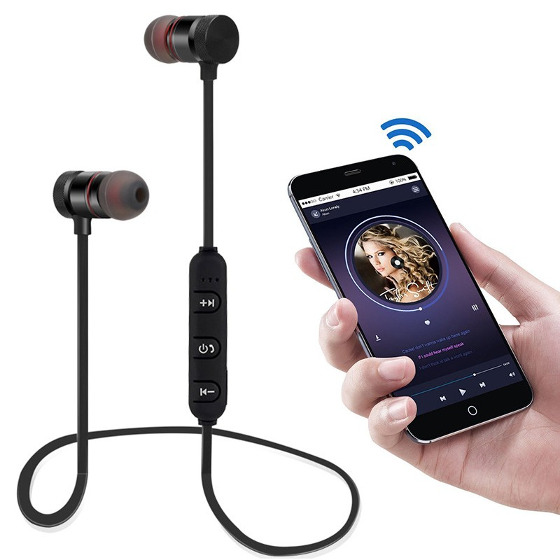 Wireless Earphones Sporting Earpiece Earbud Bluetooth Earphone For Xiaomi Huawei Mobile Phone MP3 MP4 Player Laptop PC Game (19)