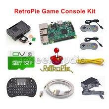 Raspberry Pi 3 Model B 32GB RetroPie Game Console Kit with 2pcs SNES Controllers Gamepads Joypad Joystick