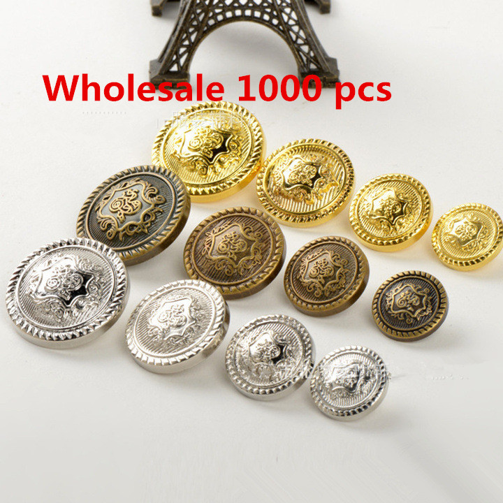 Wholsesale Vintage Shield Sewing Plastic button for Craft Garment Coat Accessories ABS buttons Hair Accessories 1000pcs Free