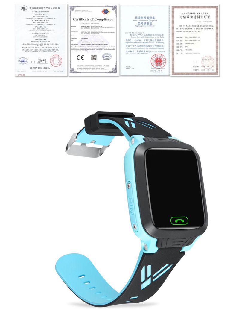 Smart Children\`s Watches GPS IOS Android SOS Relogio Inteligente Girl Fitness Bracelet Baby Kids Connect Educational Smartwatch (8)