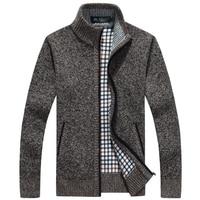 Factory Direct Sale 2016 Brand Fashion Sweater Men S Zipper Cardigans Long Sleeve Warm Sweaters Men