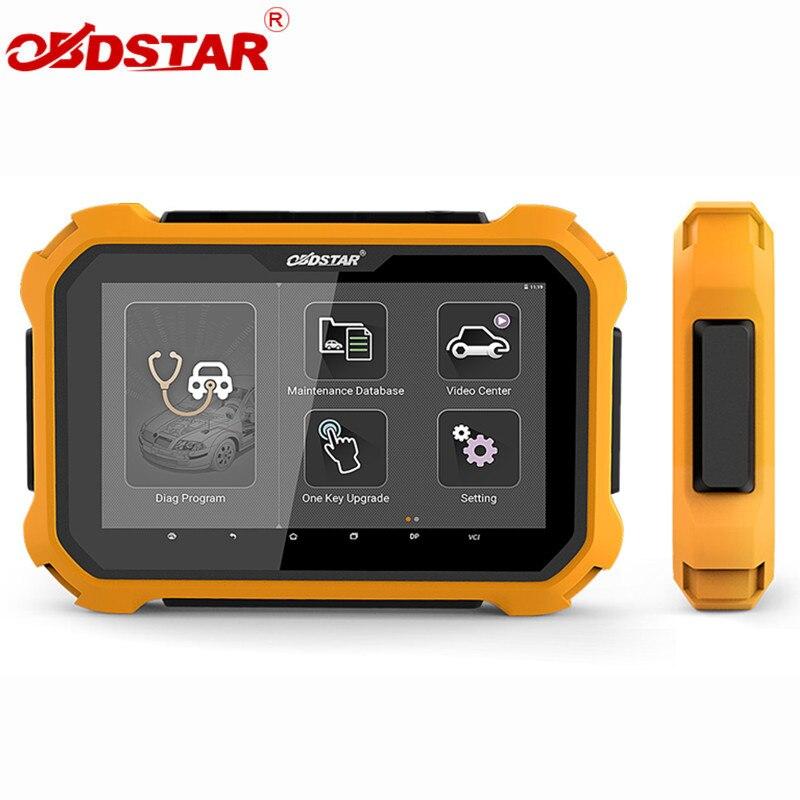 OBDSTAR X300 DP X300DP плюс планшет Ключевые программист Авто диагностический инструмент программы X300 DP плюс с P001 программист