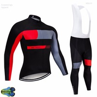 2019 Pro Racing Team Ropa Hombre Bike MTB Cycling Clothing Bicicletta Maillot Ciclismo Cycling Wear Long Ciclismo Cycling Jersey