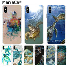 MaiYaCa watercolor Turtle Tortoise On Sale! Luxury Cool Case for Apple iPhone 8