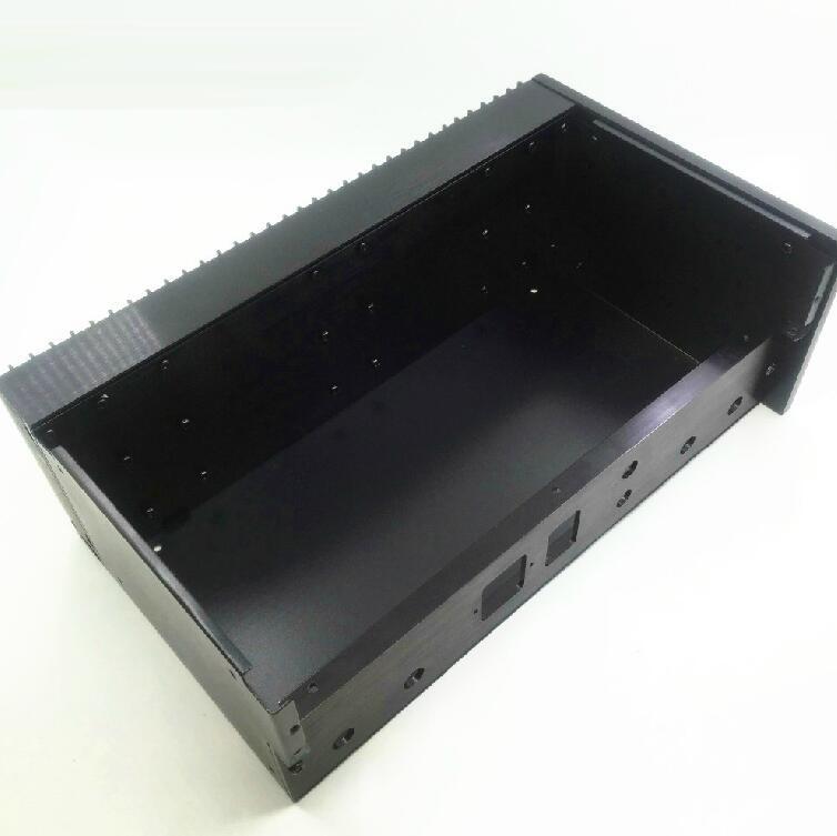 CLONE QUAD405 Black Chassis Power Amp Box DIY Amplifier Case Enclosure