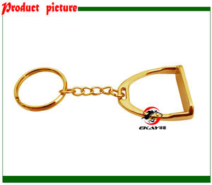 Ornament Horse-Stirrup K006 Fair Diecasting Available. Gift.horse-Product Small Small