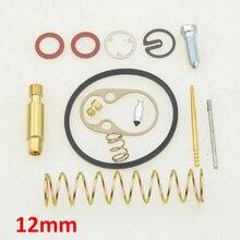 GOOFIT 12mm Bing Carb Rebuild Stock Carburetor  Carburetor Repair gasket Kits Puch Maxi Sport Luxe Newport N090-112-1
