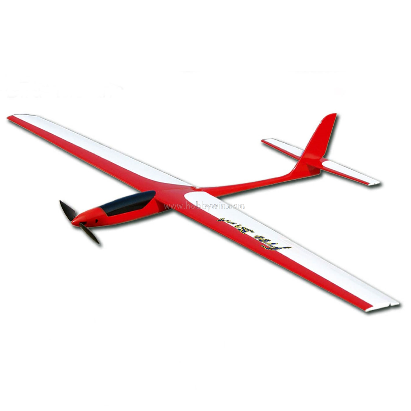 Free bird electric glider 1450mm kit with motor for Model airplane motors electric