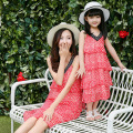 207 summer mother daughter dresses family look girl and mother cake dress matching mother daughter clothes mommy and me clothes
