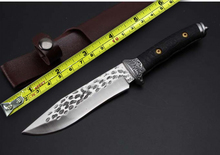Handmade Tactical Fixed Knife G10 Handle 7Cr13Mov Blade Survival Knife Outdoor Camping Hunting Knives