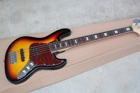 Sell like hot cakes 5 string bass guitar,The black edge of the orange body ,ex factory price sale, free shipping!