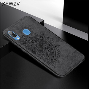 Image 3 - For Samsung Galaxy A30 Case Soft Silicone Luxury Cloth Texture Hard PC Phone Case For Samsung Galaxy A30 Cover For Samsung A30