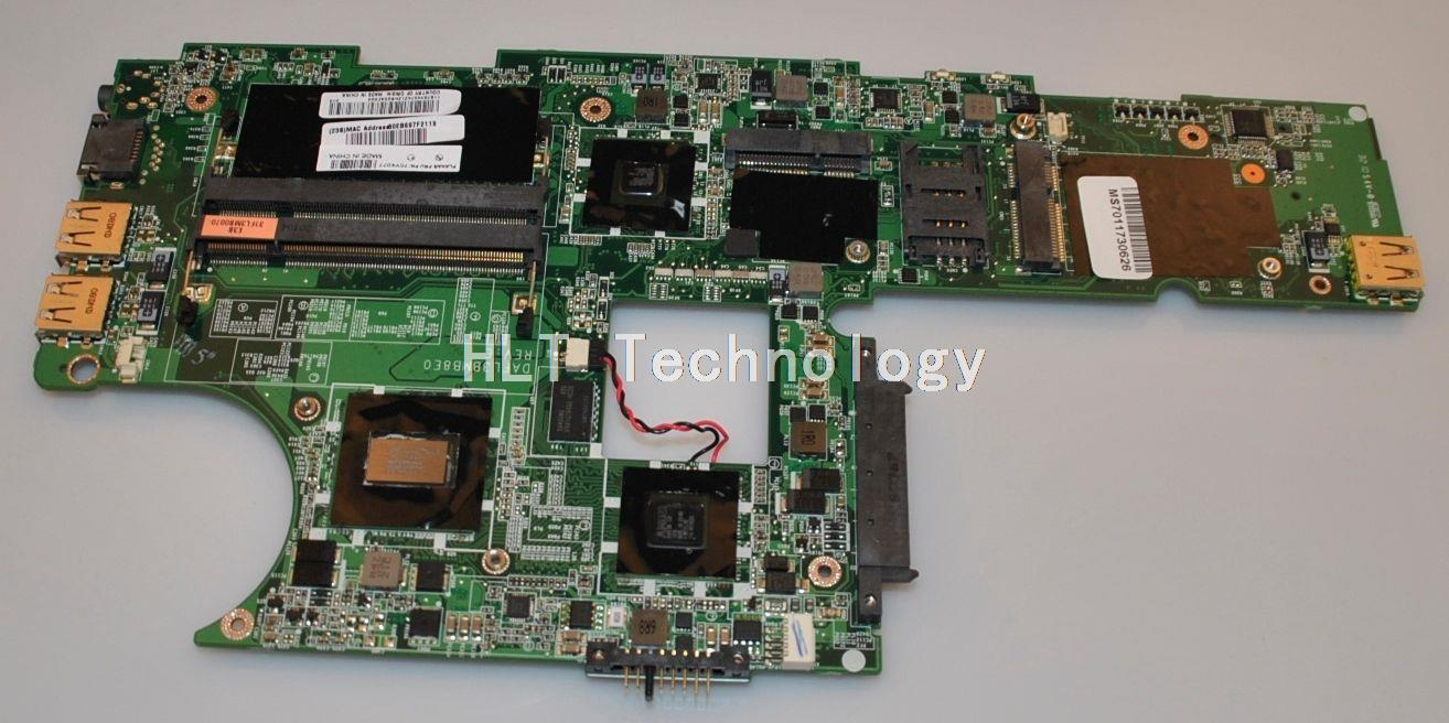 Laptop Motherboard For Lenovo Thinkpad X100E DAFL3BMB8E0 REV:E MV40 CPU integrated graphics card 100% fully tested