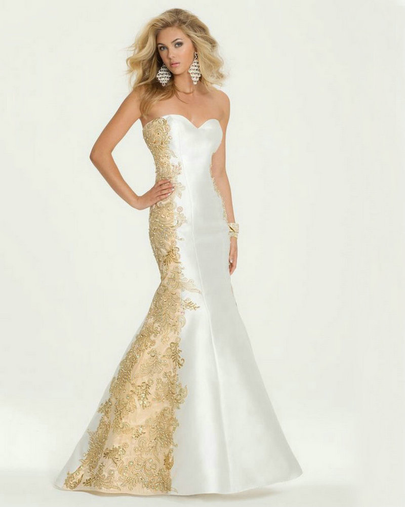 Wedding Gold And White Prom Dresses images of gold and white prom dresses fashion trends models similiar keywords