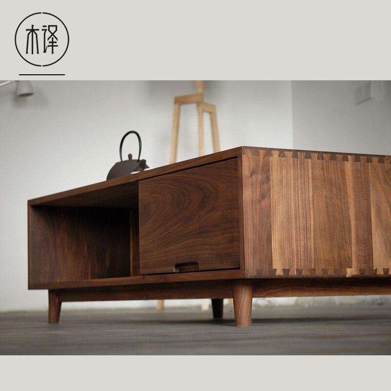 [Translation] wood black walnut wood furniture oak wood coffee table  minimalist Nordic Chinese Japanese Muji on Aliexpress  Alibaba Group