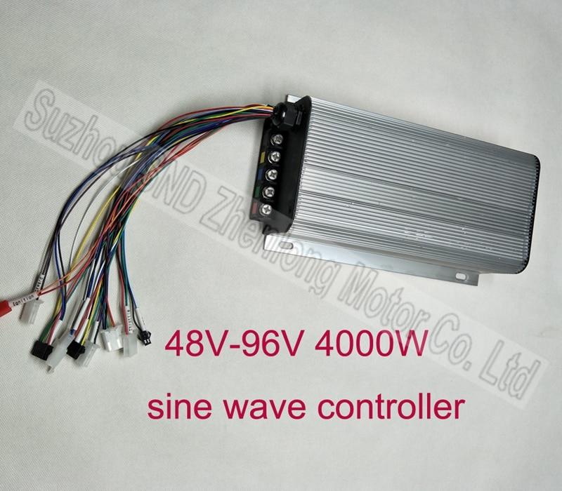 BLDC 48V~96V 4000W 24 Mosfet Sine Wave Controller/high Power Motorcycle Motor Controller G-K161