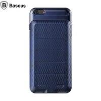 Baseus Pil Şarj Case 2500 mAh Harici Yedekleme Pil Kutusu güç Bankası Paketi Şarj Arka Kapak iphone 6 6 s/6 s artı