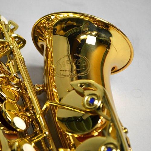 Профессиональный музыкальный инструмент НОВЫЙ ЮПИТЕР JAS-769 Alto Eb Мелодия саксофон золотой лак Sax с случае мундштук бесплатная доставка