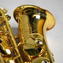 Профессиональный музыкальный инструмент НОВЫЙ ЮПИТЕР JAS-769 Alto Eb Мелодия саксофоны золотой лак Sax с случае мундштук бесплатная доставка