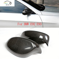 Carbon Fiber Add On Side Rear view  Mirror Covers for BMW E92 318i 320i 323i 325i 328i 330i 335i xDrive 05-08  M3 2007 2008