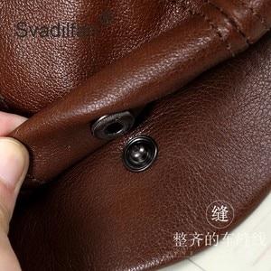 Image 5 - Retro Octagonal Genuine Leather Hat Autumn Mens Cowhide Leather Beret Elegant Fashion Student Tongue Cap Snapback Caps For Men