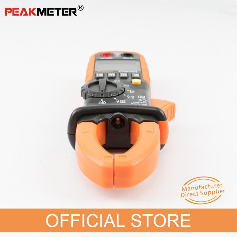 PEAKMETER PM2008A Medidores de pinza digitales Medidor de pinza de - Instrumentos de medición - foto 2